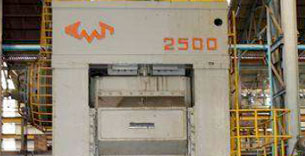 2500 T Knukle Joint Coining Press